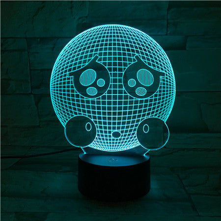 Sphere 1 - 3D Optical Illusion LED Lamp Hologram