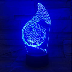 Tuba 1 - 3D Optical Illusion LED Lamp Hologram