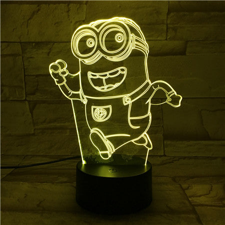 Mini Running - 3D Optical Illusion LED Lamp Hologram