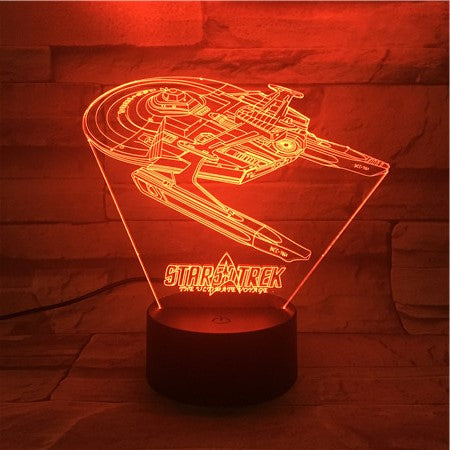 NSS Enterprise - 3D Optical Illusion LED Lamp Hologram
