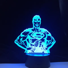 Handball Player Figure 3D LED Night Light USB Children Kids Gift Baby Nightlight Sports Desk lamp Dropshipping Gift