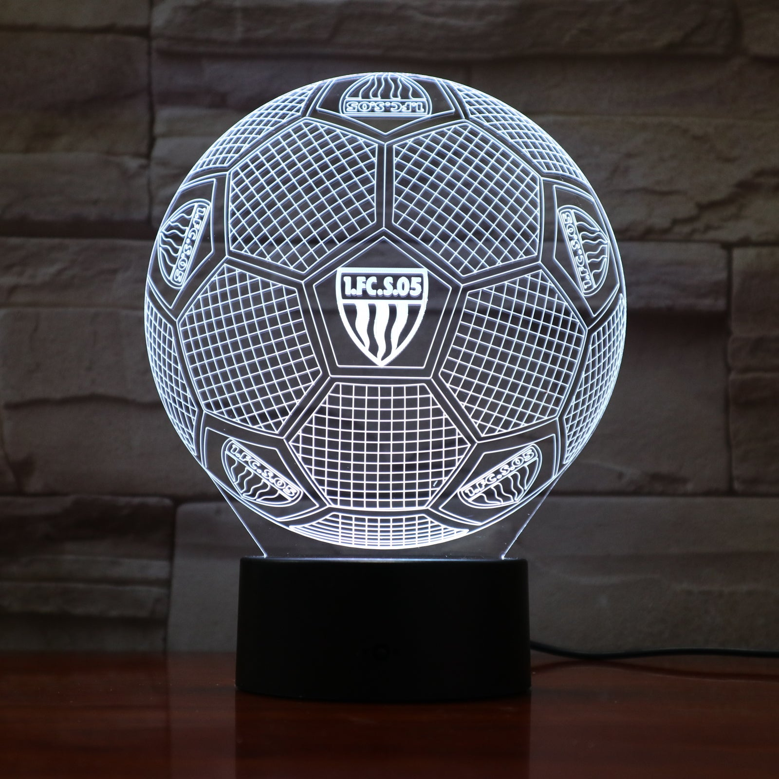 Football 17 - 3D Optical Illusion LED Lamp Hologram