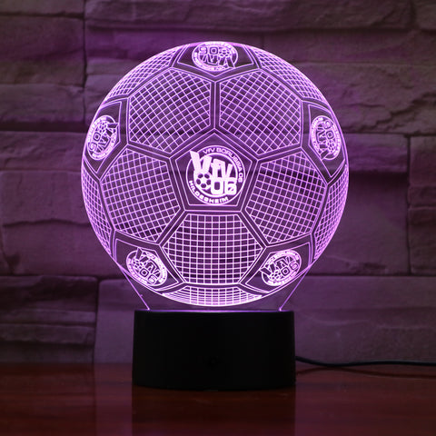 Batman - 3D Optical Illusion LED Lamp Hologram