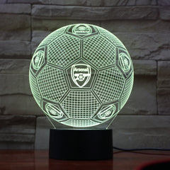 Football 22 - 3D Optical Illusion LED Lamp Hologram