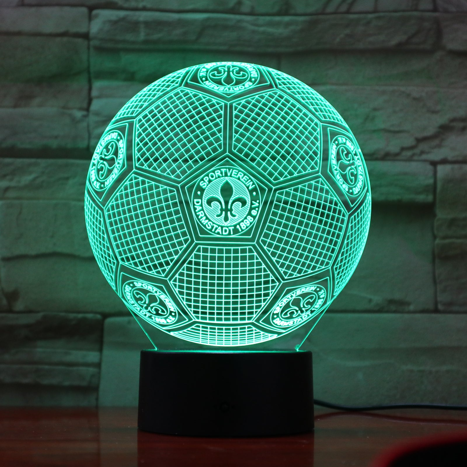 Football 23 - 3D Optical Illusion LED Lamp Hologram