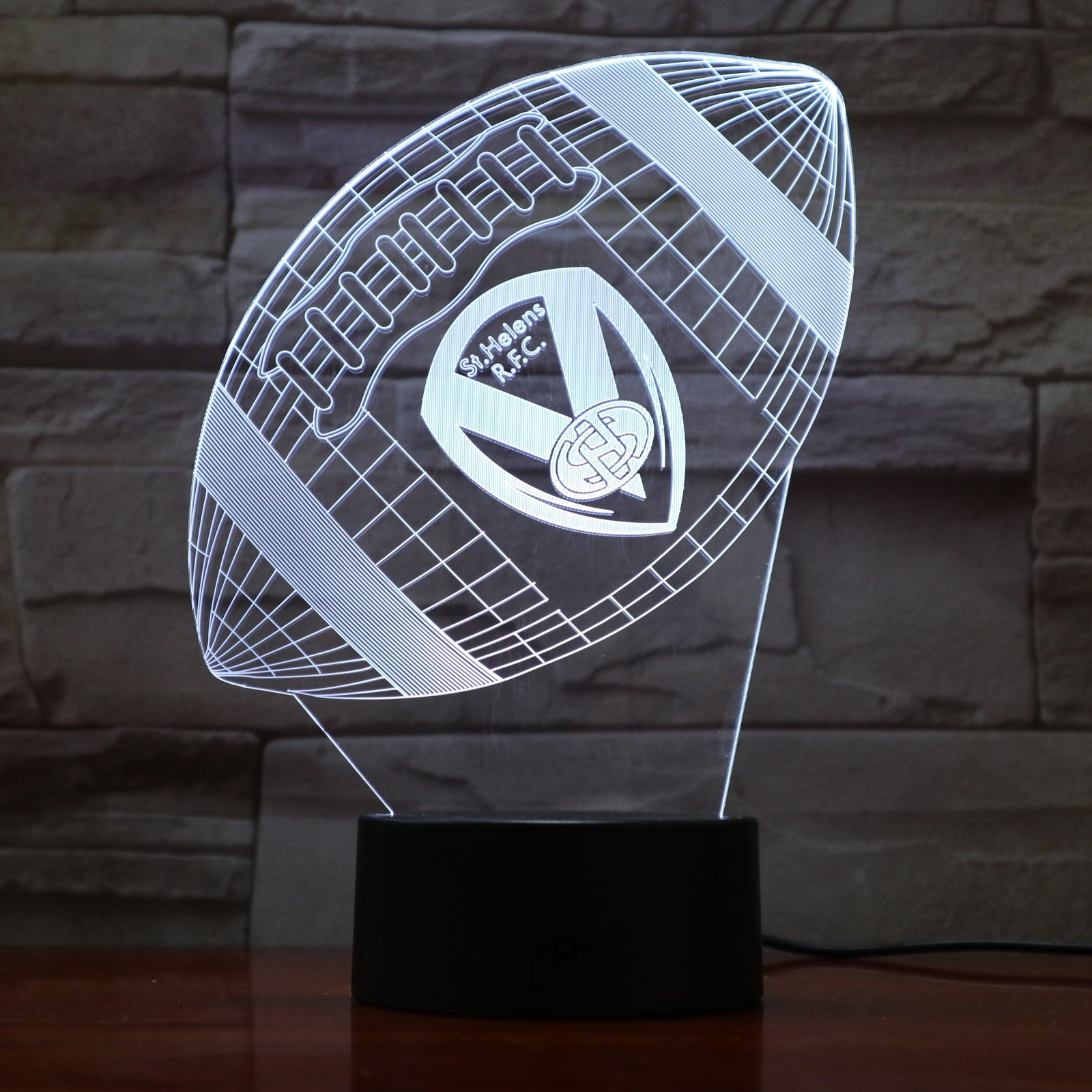 American Football 9 - 3D Optical Illusion LED Lamp Hologram