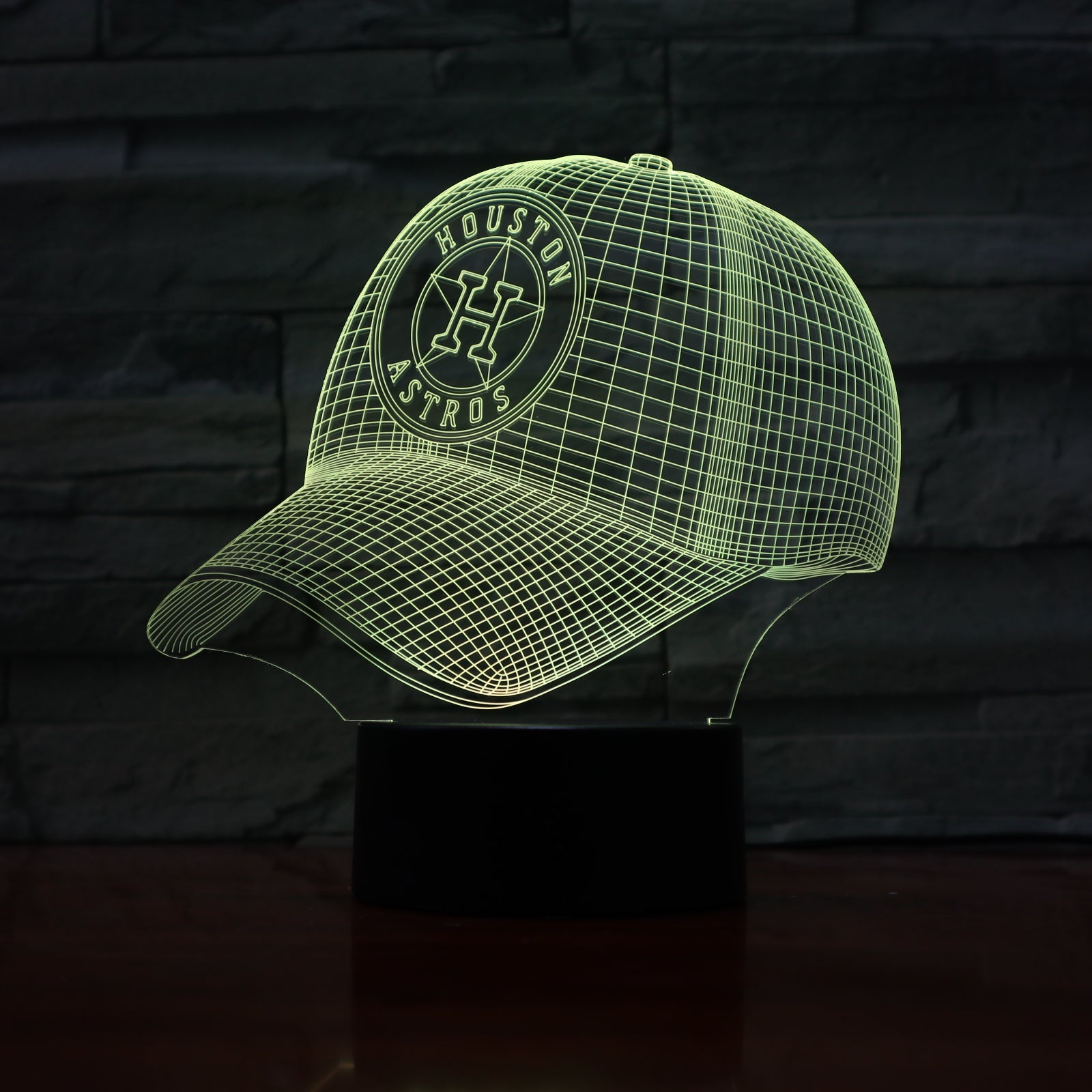 Cap 1 - 3D Optical Illusion LED Lamp Hologram