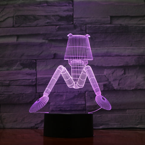 Night Lamp - 3D Optical Illusion LED Lamp Hologram