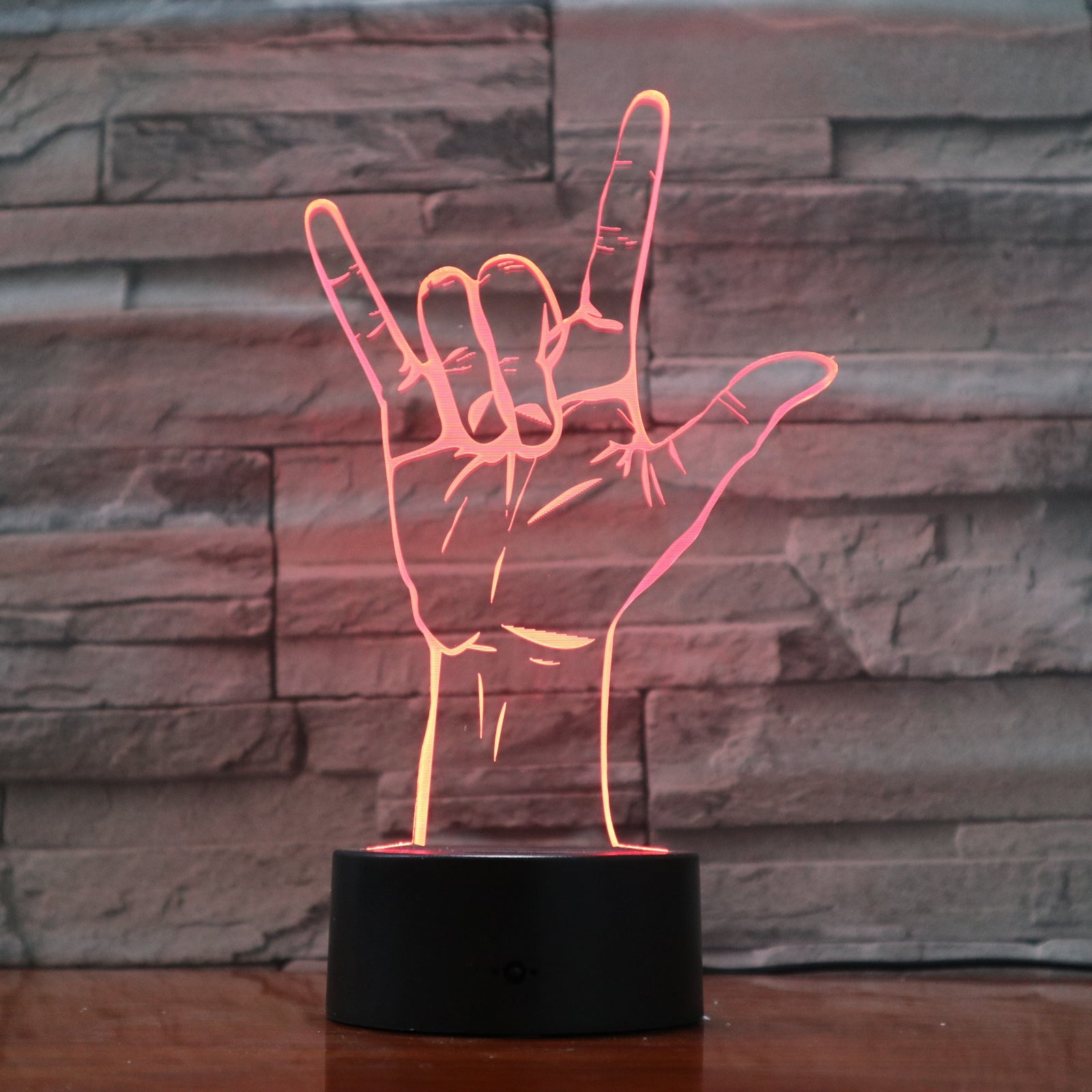 Hand 1 - 3D Optical Illusion LED Lamp Hologram