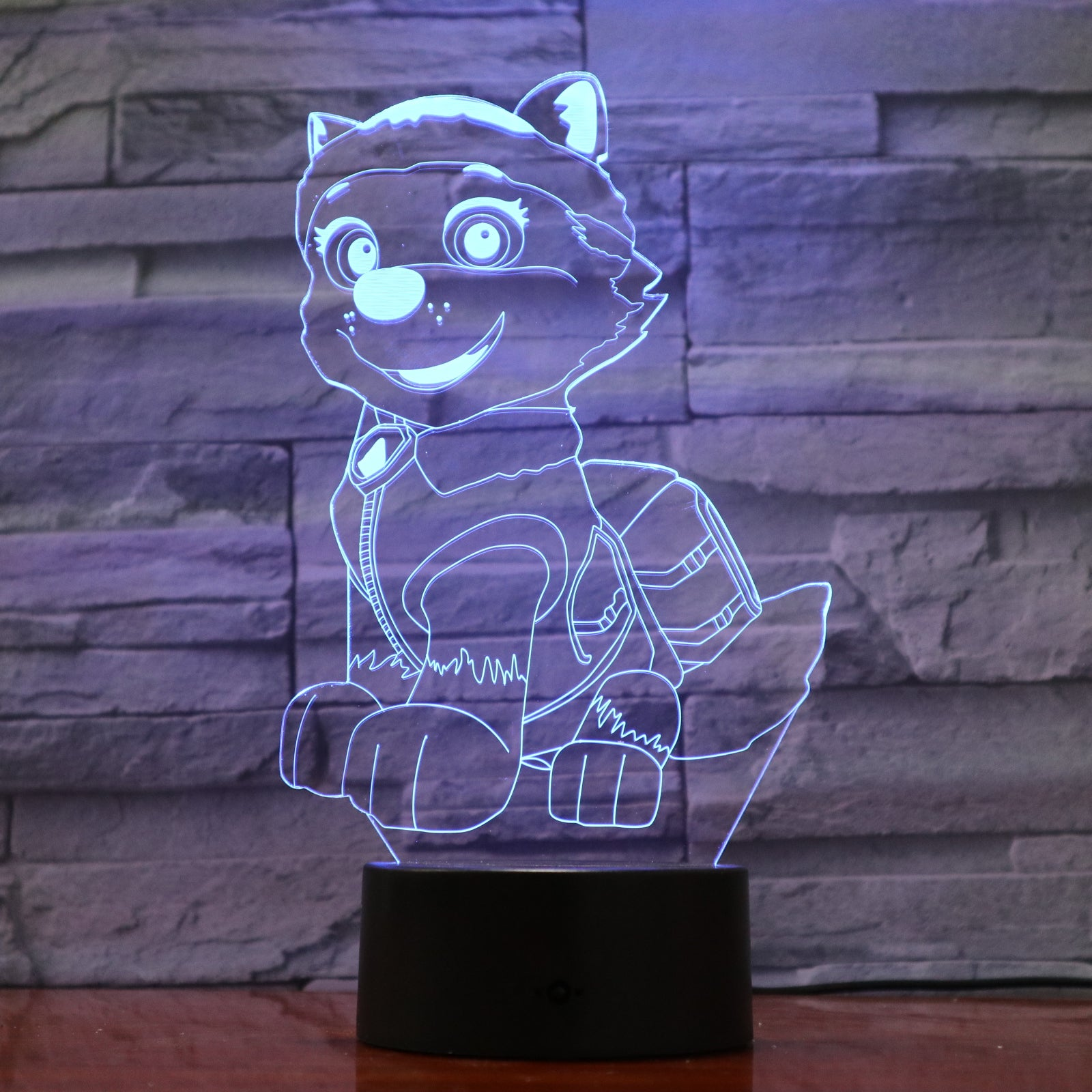 Dog 2 - 3D Optical Illusion LED Lamp Hologram
