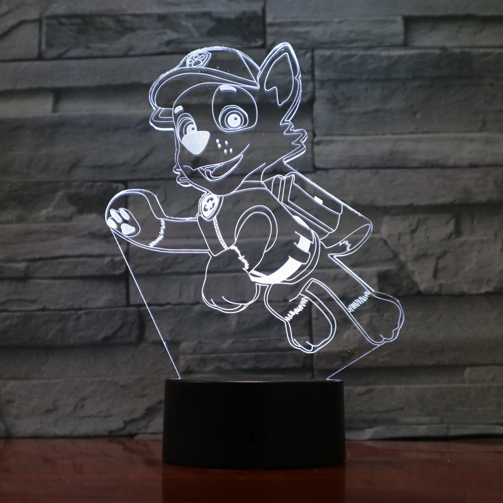 Dog 1 - 3D Optical Illusion LED Lamp Hologram