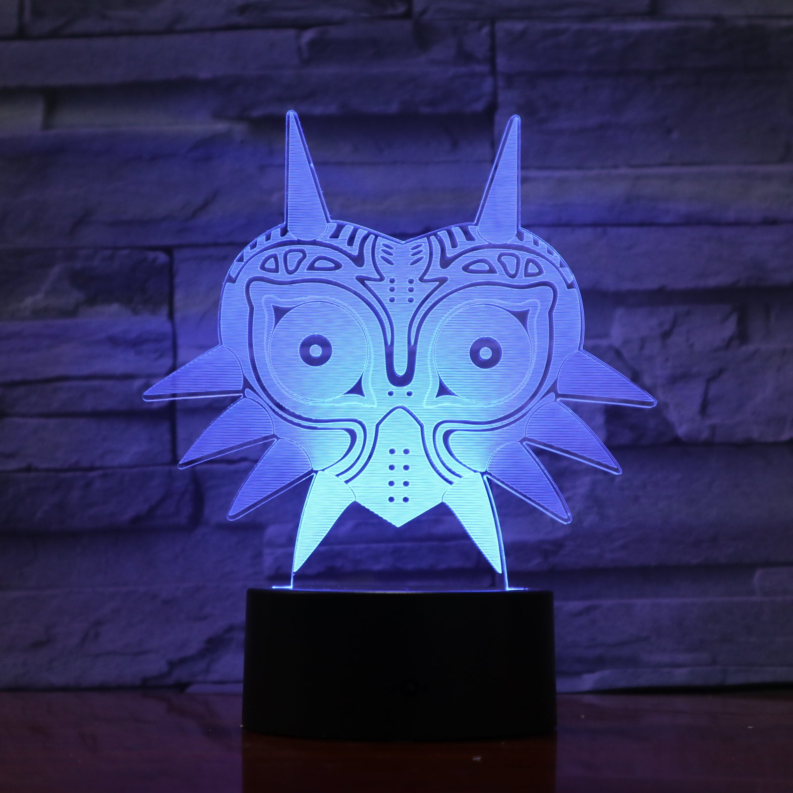 Abstract 4 - 3D Optical Illusion LED Lamp Hologram