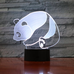 Panda - 3D Optical Illusion LED Lamp Hologram