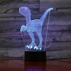 Troodon 1 - 3D Optical Illusion LED Lamp Hologram