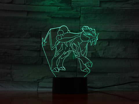 Animal - 3D Optical Illusion LED Lamp Hologram