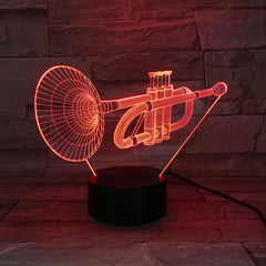 Tube - 3D Optical Illusion LED Lamp Hologram