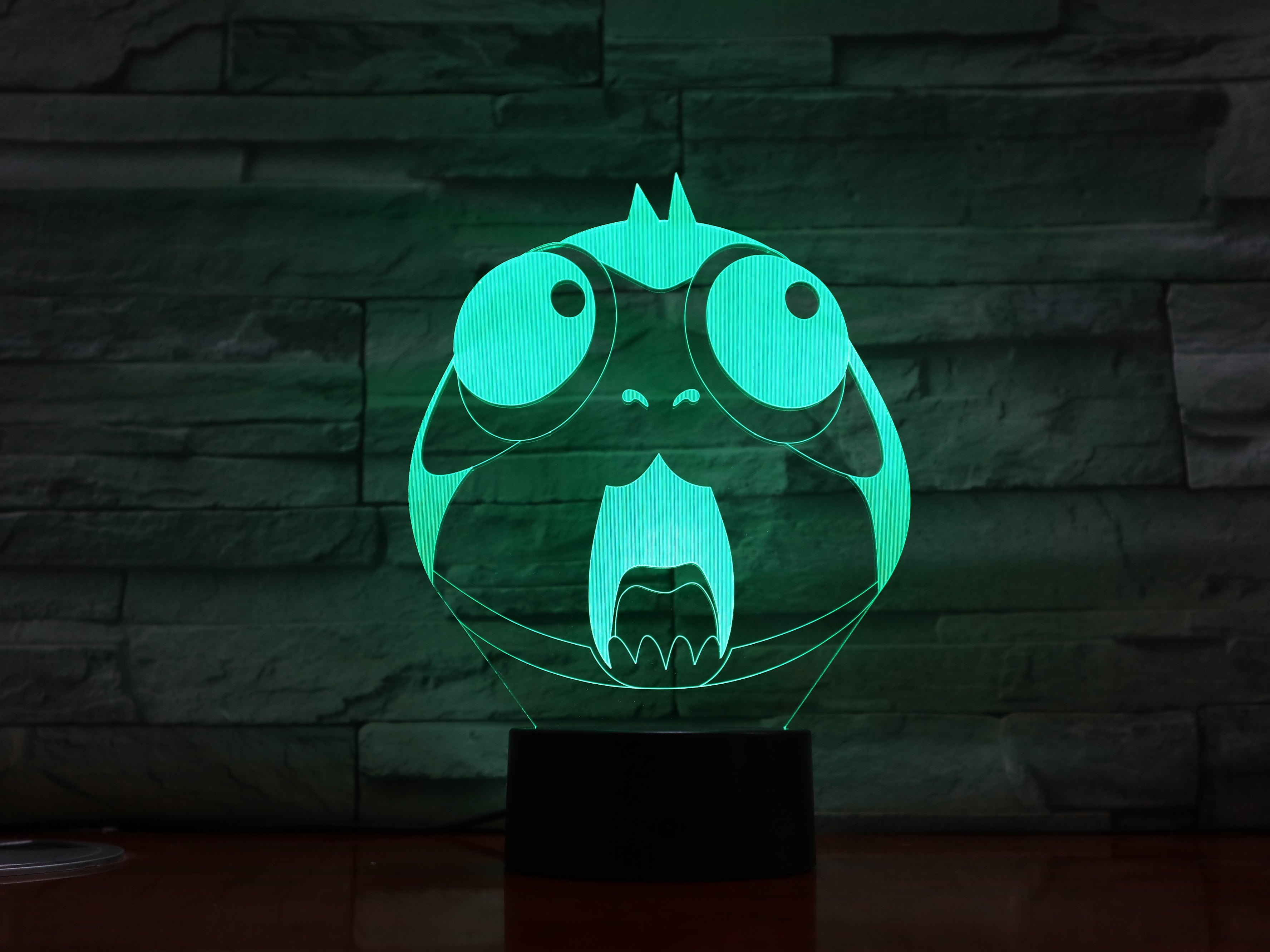 Cartoon Owl 3D Night Light Lovely Animal Bird Acrylic LED Baby Sleepping Atmosphere Table Bedroom Light As Kids Toy Gifts 1343