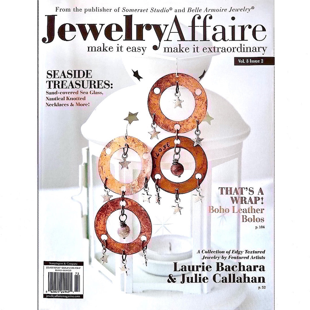 Cover of Jewelry Affaire Magazine - Volume 8, Issue 2