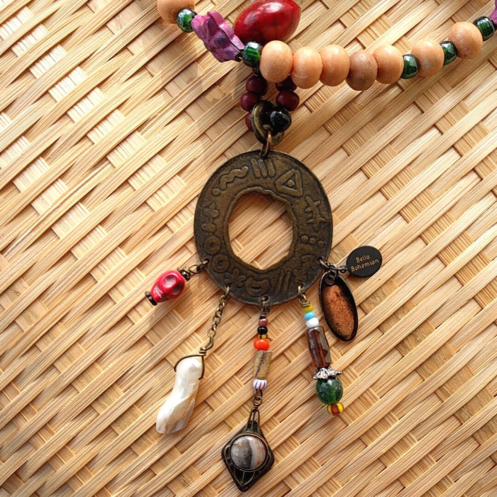 Down-to-Earth Girl Necklace