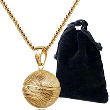 Load image into Gallery viewer, Basketball Necklace