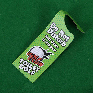 The Funny Toilet Mini Golf Game