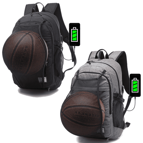 The GOAT Bag Sports Backpack with Portable USB Charging Port - sportskneetherapy