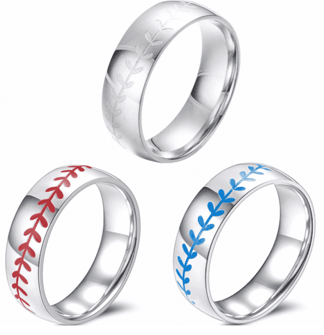 Baseball Stitch Ring - sportskneetherapy