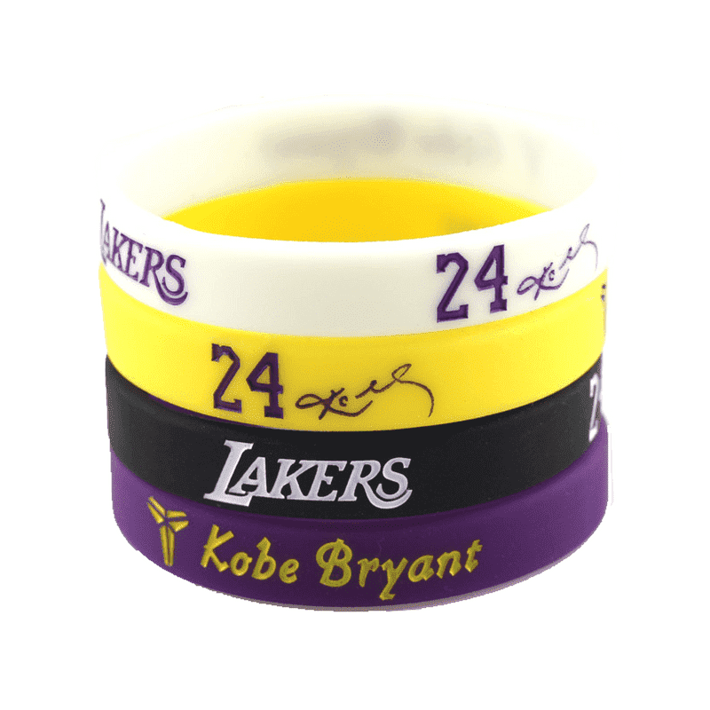 Kobe Lakers Bracelets (4pc set)