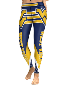 Womens West Virginia Leggings - sportskneetherapy