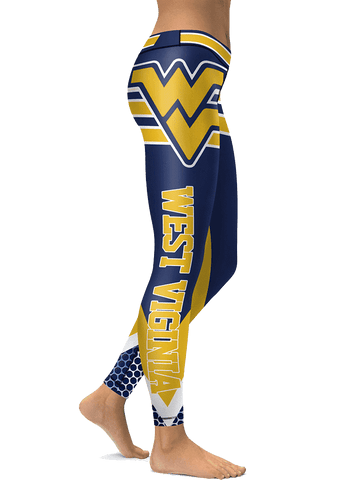 Womens West Virginia Leggings
