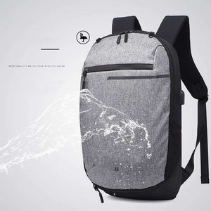 "The ""Game Changer"" Sports Backpack with Charging Port"