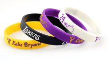 Load image into Gallery viewer, Kobe Lakers Bracelets (4pc set)