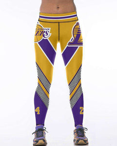 Women's Lakers 24 Leggings - sportskneetherapy