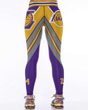 Load image into Gallery viewer, Women's Lakers 24 Leggings - sportskneetherapy
