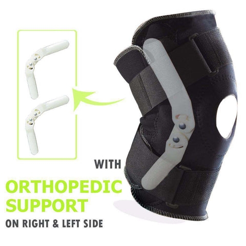 Professional ACL MCL Protection Knee Support Brace with Bilateral Hinges - sportskneetherapy