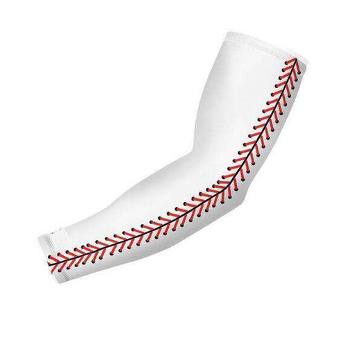 Baseball Stitch Arm Sleeve - sportskneetherapy