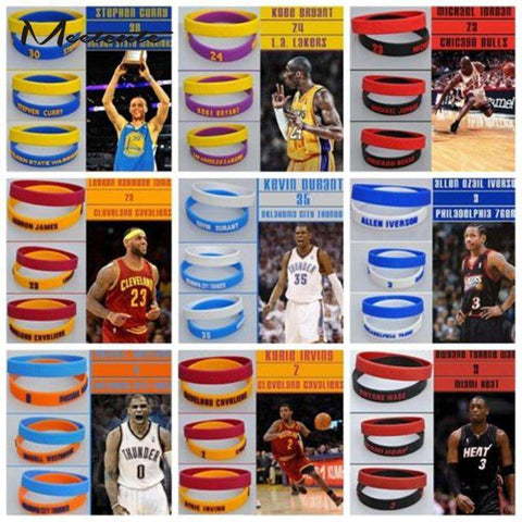 Basketball Player Bracelets - Sports Gear Factory