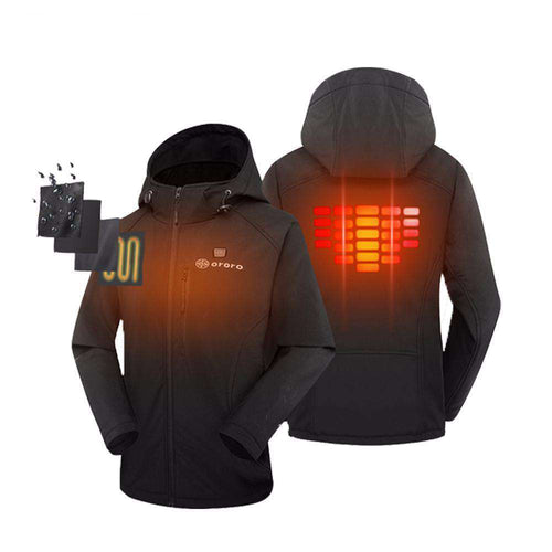 Mens Heat-Activated Softshell Thermal Jacket - sportskneetherapy
