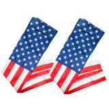 American Flag Arm Sleeve Pair ( 2 sleeves) - sportskneetherapy