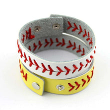 Load image into Gallery viewer, Baseball Stitch Bracelet