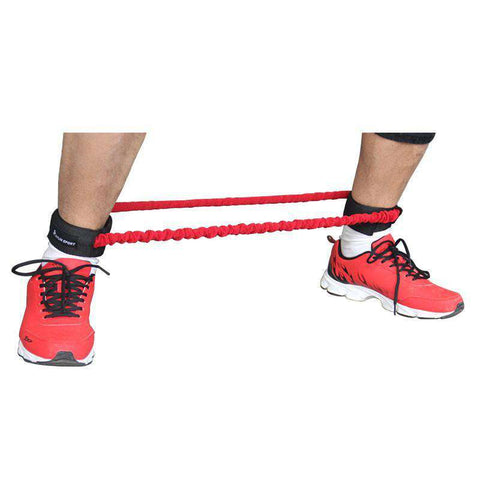 Leg resistance bands speed stepper trainer covered resistance bands for leg leg trainer - sportskneetherapy