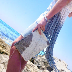 Crossbody Cowhide Bags and Clutches by Kitty Kat