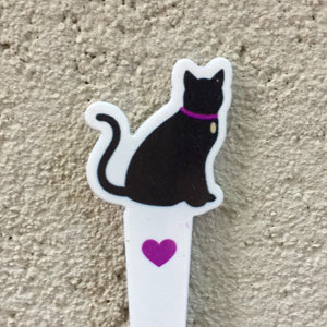Eyebrow Cat Print Tweezers, Tweezers - KITTY KAT,