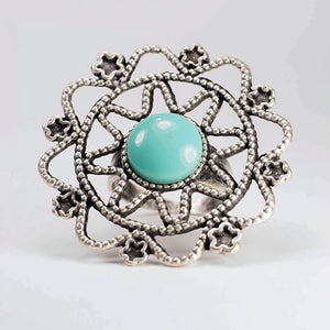 Iris Zamak Turkish Ring, Ring - KITTY KAT,