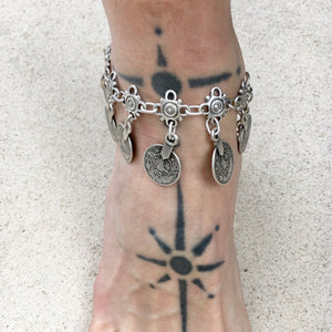 Skye Boho Coin Drop Anklet - KITTY KAT