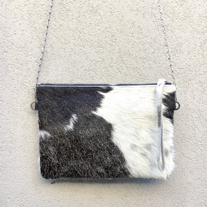 Ambrosia Cowhide Crossbody Clutch Bag, Clutch Bag - KITTY KAT,