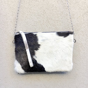 Ambrosia Cowhide Crossbody Clutch Bag - KITTY KAT
