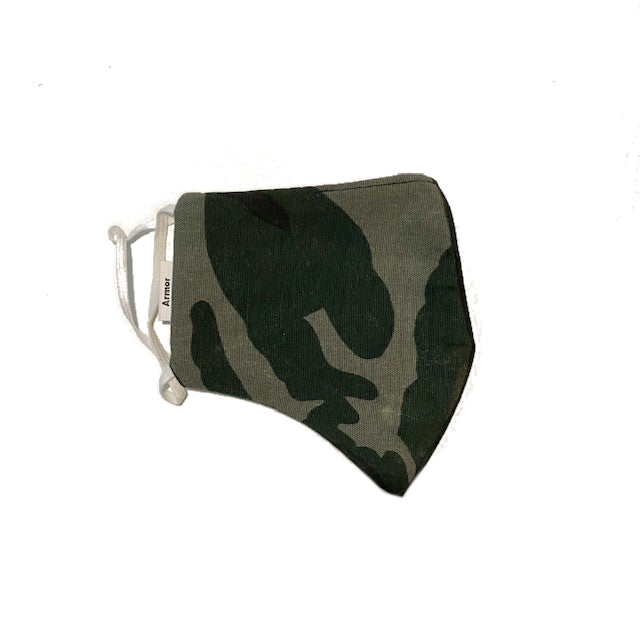Unisex Army Print Washable Face Masks - KITTY KAT