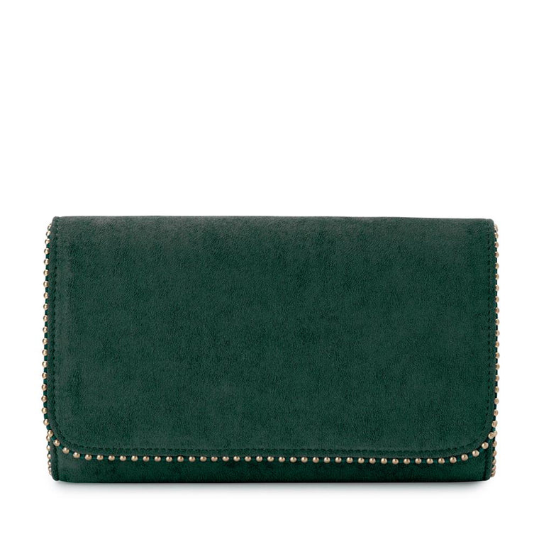 JULES METAL TRIM FOLDOVER CLUTCH