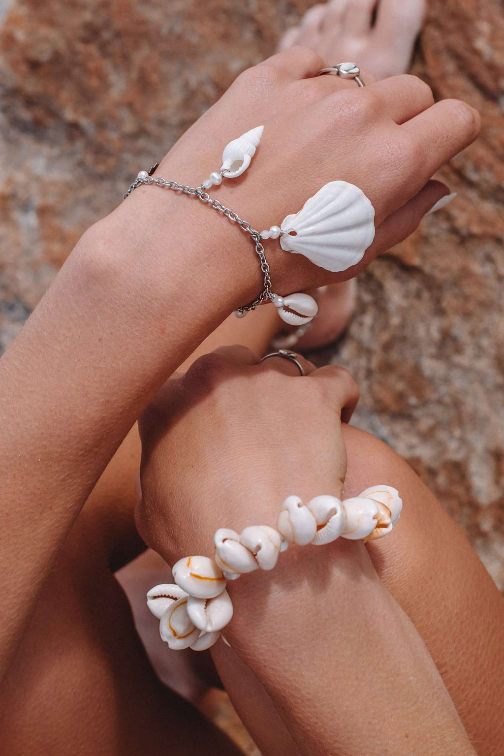 Adrift Shell Bracelet, Bracelet with  by Lunarsea Designs